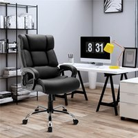 Wholesale office desks designs for sale - Group buy Office Chair Spring bag Memory foam Quality PU leather Adjustable Home Desk Modern Design Gaming Reclining Chair