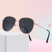 niedliche jungen sonnenbrille großhandel-Kinder Metall Bunte Sonnenbrille Nette Kinder Vintage Marke Brille Sonnenbrille Jungen Mädchen Marke UV400 Sonnenbrille