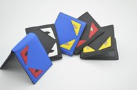 Wholesale eye ties resale online - FF fashion Design wallet brand New leather wallets for men Credit card Women purses Little Monster Eyes Billfold Bags woman gift