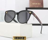 quadros de óculos cor de rosa venda por atacado-Designer de óculos de sol para as mulheres Pérola Decoração Metade Quadro Mulheres Gato Olho Óculos de Sol Moda Oversized Óculos de Sol Senhoras Rosa Claro Shades am