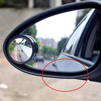 Wholesale Car Vehicle Blind Spot Dead Zone Mirror Rear View Small Round Mirror Auto Side Wide Angle Round Black