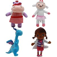 ingrosso i giocattoli dei bambini dei bambini-28-34cm Medico del giocattolo giocattoli di peluche medico calda cartone animato della bambola della peluche degli animali farciti peluche giocattoli per bambini al dettaglio