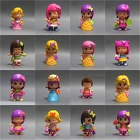 Wholesale boneca toys online - High Quality Lovely Boneca Pinypon Scented Dolls Toys Detachable Kids Action Toy Figures Fashion Girl Doll Toys