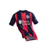 бланко рубашка оптовых-NEW 18 19 Сан-Лоренцо-де-Альмагро Home футбол Джерси Аргентина Сан-Лоренцо Гости футболка CAUTERUCCIO BARRIENTOS BLANCO