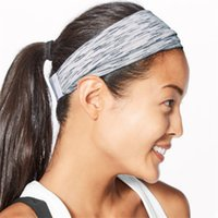 Wholesale sports head bandanas resale online - Breathable Magic Turban Sports Headband Fitness Headwear headscarf sport Head band Bandanas Yoga Gym stretchy Sweatband T1I1981
