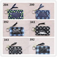 Wholesale design purses handbags for sale - Group buy Retro Pastoral Flora Money Bag Women VB Zip Coin Purse Girls ID Card Holder Slot Key Ring Hot Design Handbags Tote Mini Cotton Pouch C110704