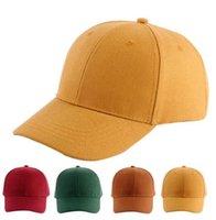 chapeaux réglables vierges achat en gros de-Chapeaux de concepteur casquettes hommes Casquettes de baseball Coton Strapback Réglable Pour Hommes Femmes Courbé Sports Chapeaux Blanc Solide Golf Visière A0008
