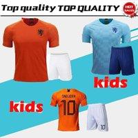 kids kit 2018 new Nederland soccer jersey 1819 home orange netherlands  HOLLAND ROBBEN SNEIJDER V.Persie Dutch away football shirts 738673473
