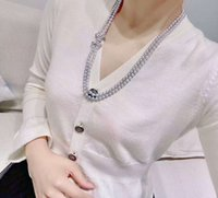 Hand knotted 8mm gray shell pearl necklace sweater chain long 70-80cm fashion jewelry
