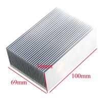 Wholesale electronic processors for sale - Group buy heat sink fins High power electronic radiator heat sink fins fine toothed MM