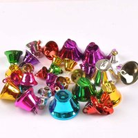 Wholesale diy home decor accessories resale online - Mixed Iron Jingle Bells For Christmas Craft Home Decor Festival Party Accessories DIY Pendants Bells mm C2680