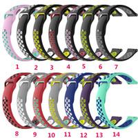 галактика smartwatch оптовых-22-мм браслет SmartWatch для Samsung Gear S3 Classic / Samsung Galaxy Watch (46 мм) Дышащий комфортный браслет для Amazfit Pace / Amazfit Stratos