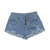 ingrosso ragazze sexy delle mutande dei jeans-Jeans Pantaloncini Donna Donna Estate Denim Pantaloncini corti Jeans corti Feminino Pantaloni corti stile coreano 2019 Pantalone caldo per ragazze Mujer