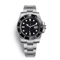 mm metros al por mayor-Reloj de lujo para hombre, reloj mecánico mecánico, versión 116610 V7, espejo de zafiro. Correa de acero de precisión 316L a 50 metros de buceo, alta calidad.