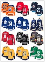 нэшвилл хоккей оптовых-2019 Торонто Мейпл Лифс Вегас Голден Найтс 61 Марк Стоун 36 Цуккарелло Нэшвилл Хищники 17 Симмондс 64 Гранлунд хоккейные майки