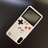 cajas de teléfono para niños al por mayor-Game Boy Phone Cases para Iphone Xs Pantalla completa para Iphone X Iphone 7 8 Teléfono de juegos Contraportada