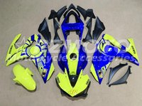 ingrosso vendita delle carcasse del motociclo yamaha-Nuovo kit di carenatura moto ABS iniezione stampo per YAMAHA R3 R25 2014 2015 2016 14 15 16 carenature carrozzeria set verde blu vendite calde
