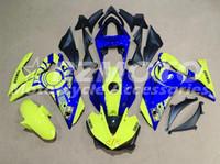 yamaha motosiklet fairings satışı toptan satış-YAMAHA R3 Için yeni Enjeksiyon Kalıp ABS Motosiklet Fairing Kiti R3 R25 2014 2015 2016 14 15 16 Kaputlar Kaporta seti yeşil mavi sıc ...
