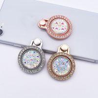 Wholesale phone gems resale online - Phone Holder Luxury Diamond Bling Glitter Gem Ring Stand Degree Lazy Bracket Holder For iphone Pro Max For Samsung S20 Ultra