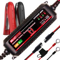 зарядное устройство multi pack оптовых-MOTOPOWER MP00207A 12V 2Amp Интеллектуальное автоматическое зарядное устройство для обслуживания аккумуляторов свинцово-кислотных и ионно-литиевых батарей