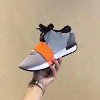 sapatos de design de marca homens venda por atacado-2019 PROJETO de LUXO DESIGNER BRAND flats Couro Genuíno HOMENS SNEAKERS MENS CORREDORES MULHERES de Skate casuais SHOES womens Com saco