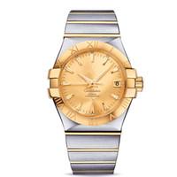 marcas de relojes de pulsera de las mujeres al por mayor-Constellation 123.20.35.20.08.001 Reloj casual de lujo de primera marca Hombres Mujeres Reloj de negocios Relojes de pulsera mecánicos automáticos de moda