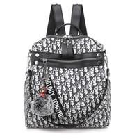 Wholesale school bag newest for sale - Group buy Newest designer backpack For women Designer Bag Ladies Travel School Backpack for Teenage Casual High Capacity Bag Pack Drop Shipping