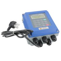 medidor de vazão ultra-sônico venda por atacado-Medidor de Fluxo Ultrassônico Branded Ultrasonic Medidor De Vazão De Fluxo Medidor de Vazão de Fluxo IP67 TUF-2000B Transdutor TM-1