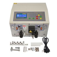 Wholesale strip machine wire resale online - SWT508MAX Automatic Wire Stripping Peeling Machine Wire Cutting Crimping for to mm2 with Extra Free Knife