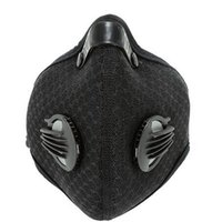 Wholesale cycling anti pollution mask for sale - Group buy PM2 Cycling Face Mask Carbon Filter Pollution Bike Bicycle Masks neoprene nylon Outdoor Sport Running Ski Anti Dust Smog Mask
