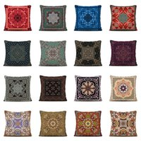 Wholesale court cases for sale – best Court Style Cushion Cover cm polyester peach skin Pillow Case Brown Square Home Decorative Pillows Cover For Sofa Car LJJK1958