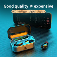 Wholesale case for iphone led for sale – best 150pcs TWS G20 Wireless Headphones D Stereo Bluetooth Earphone LED Display Headset IPX7 Waterproof earburd mAh case for iphone