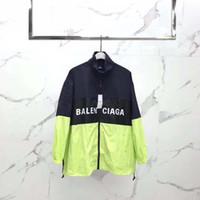 patlama modeli ceket toptan satış-Ücretsiz kargo Erkekler İlkbahar Sonbahar Windrunner ceket Ince Ceket Kaban, erkekler spor rüzgarlık ceket patlama Siyah modelleri çift clothin erkek
