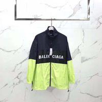 veste de printemps noir pour les hommes achat en gros de-Livraison gratuite Hommes Printemps Automne Windrunner veste Thin Jacket Coat, Hommes sport coupe-vent veste explosion Noir modèles couple clothin Hommes