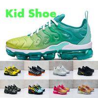 zapatos de moda para niños al por mayor-zapatos de moda para niños vapores tn más muchachas de los bebés para niños zapatillas de deporte Limón Limón negro de la cal blanca puesta de sol de verano los niños calzan 24-35