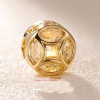 ingrosso braccialetti di fascini dei soldi-Fit Pandora bracciali perline in argento 925 bracciali Transfer money monete lucky beads charms bracciali per le donne perline fai da te gioielli collana amore