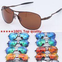 Wholesale 100 cycling sunglasses for sale - Group buy 100 Top quality crosshairs Classic metal Metal sports eyewear Cycling Sunglasses Polarized lens Men s Sports sunglasses designer