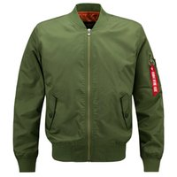Wholesale quick drying tactical shirts for sale - Group buy Bowling Men Sports Stand Collar Jacket Air Force Pilot Baseball Shirt Tactical Clothes Jacket Badminton Sportswear Cotton Coat