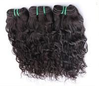 işlenmemiş bakire saç atkı atkı toptan satış-Kapalı Siyah Renk Işlenmemiş Çift Atkı Brezilyalı Vücut Dalga% 100% İnsan Saç Dokuma Paketler 1 adet / 100g Bakire Saç Uzantıları