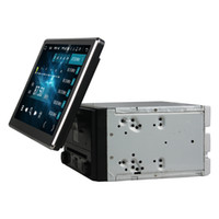 espejo retrovisor dvr bluetooth al por mayor-Pantalla IPS giratoria 4GB + 64GB + Octa Core 2 din 10.1