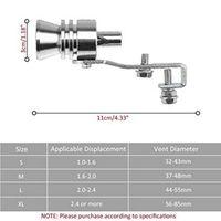 Wholesale whistle muffler resale online - Car whistle Universal Aluminum Car BOV Sound Whistle Muffler Exhaust Pipe Sound Simulator