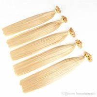 en çok satılan bakire saç uzantıları toptan satış-CE Ceitification En çok satan remy Brezilyalı Düz ucu Saç doğal renk 100% virgin İnsan saç uzantıları