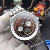 sehen sie die marke schön großhandel-mens watches automatische uhr berühmte marke mode kalender 43mm gesicht wasserdicht mechanicwatch gute qualität mit schönen farben