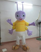 costumes de fourmis achat en gros de-2018 haute qualité chaud le costume tête de mascotte fourmi pour adulte à porter à vendre