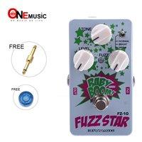 biyang effets pédales achat en gros de-Biyang Baby Boom FZ10 Pédale Basse Guitare Fuzz Star Distortion Livraison gratuite