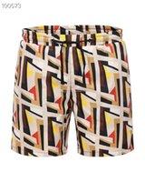 ingrosso pantaloni della striscia della tigre-Pantaloncini di alta qualità da ricamo a righe di alta qualità Pantaloncini da spiaggia da uomo di tigre di estate Pantalone da bagno da uomo Lettera da surf