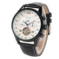modische liebhaber uhren großhandel-Casual Luminous Business Automatic-Self-Wind Mechanische modische Edelstahl-Skelett-Armbanduhr für Liebhaber