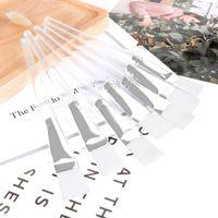 transparente gesichtsmaske großhandel-Transparent DIY Gesichtsmaske Pinsel Hautpflege Make-up Kosmetik Pinsel Beauty Tool Weiche Gesichtsmaske Pinsel HHA175
