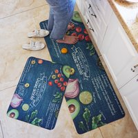 Wholesale pvc room floor mat resale online - PVC Soft Kitchen Mats For Living Room Rugs Carpets For Decorate Home Mat Floor Door Rug Delicate Anti Slip Area Rugs Carpet Mat