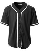 camo beyzbol formaları toptan satış-2019 Camo Özel Yeni Erkekler Genç Beyzbol Forması Basit Düz Formalar Kazak Düğmesi Kimliği 00050 Ucuz